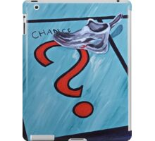 Taking a Chance,2  iPad Case/Skin