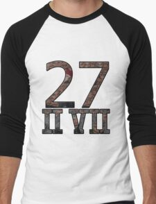 27 II VII  27 // Moses Gang Men's Baseball ¾ T-Shirt