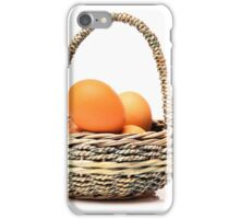 eggs in one basket iPhone Case/Skin