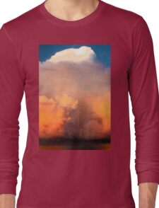 Cloud Explosion Long Sleeve T-Shirt
