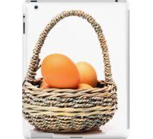 eggs in one basket iPad Case/Skin