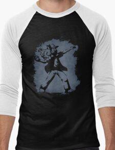 Banksy Pokeball Men's Baseball ¾ T-Shirt
