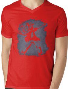 Banksy Pokeball Mens V-Neck T-Shirt