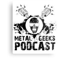 Metal Geeks Podcast - Zombie design Metal Print
