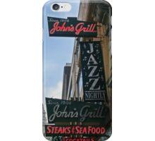 John's Grill iPhone Case/Skin