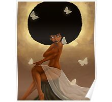 Fro and Butterflies Poster