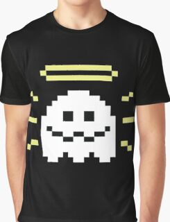8-Bit Holy Ghost Graphic T-Shirt