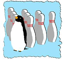 Ten Pin Penguins Photographic Print