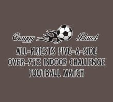 All-Priests five-a-side Over-75's Indoor Challenge Football Match Kids Clothes