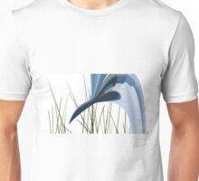 Blue Webbed Crane Unisex T-Shirt