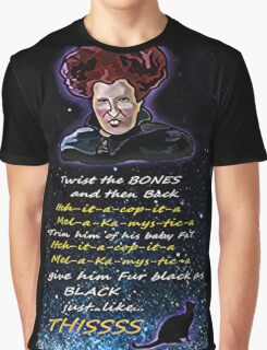 Hocus pocus Twist the bones Graphic T-Shirt