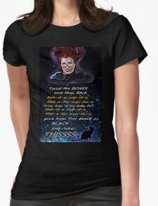 Hocus pocus Twist the bones Womens Fitted T-Shirt