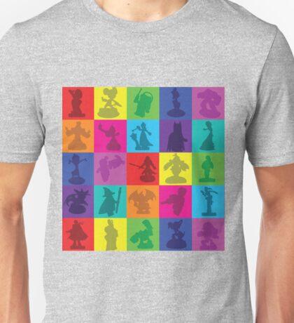 Toys For Games Color Grid Unisex T-Shirt