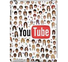 YouTube Logo w/ Faces iPad Case/Skin