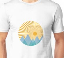Mountain Sun Unisex T-Shirt