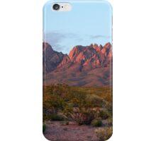 Organ Mountains At Sunset iPhone Case/Skin