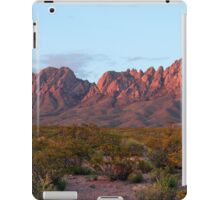Organ Mountains At Sunset iPad Case/Skin