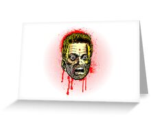 Bullet Head Greeting Card