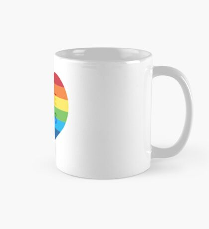 Gay pride heart / LGBT Mug