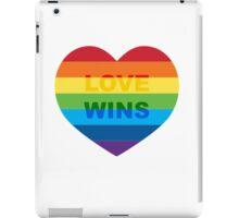Gay pride heart / LGBT iPad Case/Skin