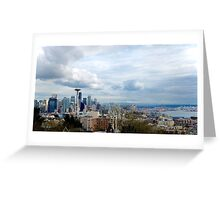 Seattle Landscape Greeting Card