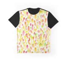 Watercolor spot pattern Graphic T-Shirt