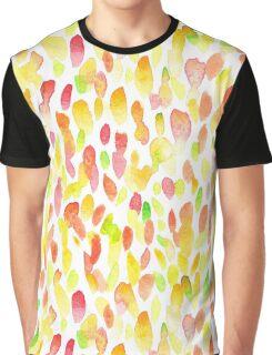 Watercolor spot pattern Graphic T-Shirt