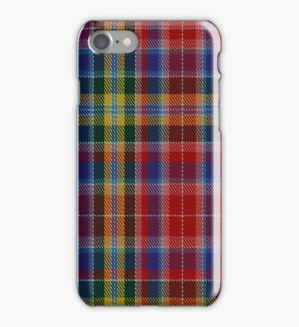 01301 Detroit Darlings Fashion Tartan  iPhone Case/Skin