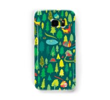 Green Forest Pattern Samsung Galaxy Case/Skin