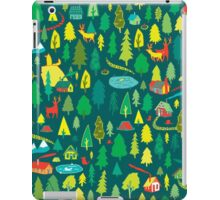 Green Forest Pattern iPad Case/Skin
