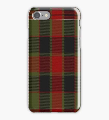 01300 Fort Worth Fowkers Fashion Tartan  iPhone Case/Skin