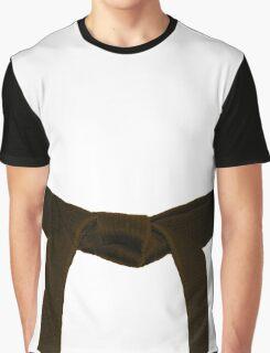 Martial Arts Brown Belt Graphic T-Shirt