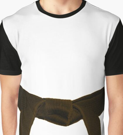 Martial Arts Brown Belt Graphic T-Shirt