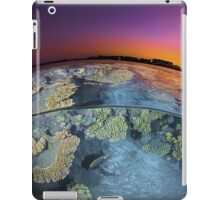 Dusk at the Red Sea Reef iPad Case/Skin