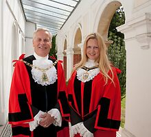 Mayor & Deputy Mayor Bromley Kent by Keith Larby