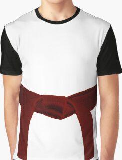 Martial Arts Red Belt Graphic T-Shirt