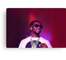 Gucci Mane Back On Road Canvas Print