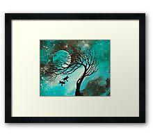 Dragonfly Bliss Framed Print