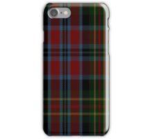 01379 Sir George Etienne Cartier Commemorative Tartan iPhone Case/Skin