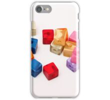 colored bullets iPhone Case/Skin