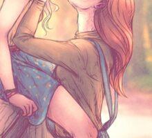 Luna and Ginny Sticker