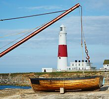 A different view of Portland Bill lighthouse by Ian Middleton