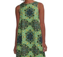 REPSYCLE SERIES #93 A-Line Dress