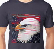 Patriotic Eagle Unisex T-Shirt
