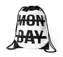 Niall's Monday  Drawstring Bag