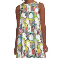 carnivorous plants and ladies A-Line Dress