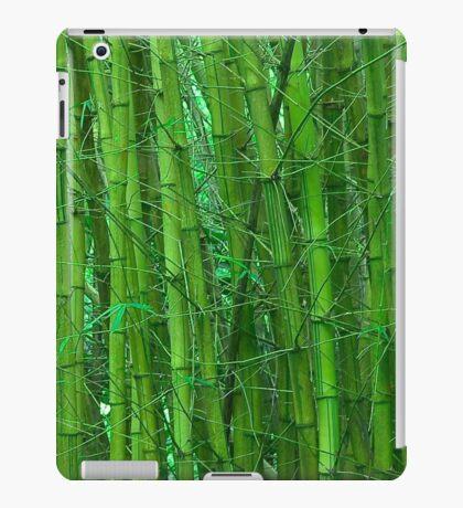 Green and serene bamboo iPad Case/Skin