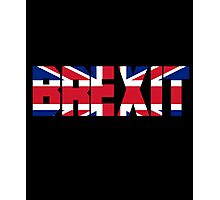 Funny UK Independence Day 2016, Brexit T-Shirt Photographic Print