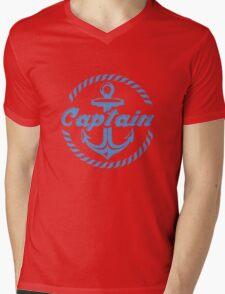 Captain Mens V-Neck T-Shirt