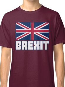 Vote Brexit, Funny UK Independence Day 2016, British T-Shirt Classic T-Shirt